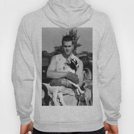 Tom Brady The Goat (B&W) Hoody