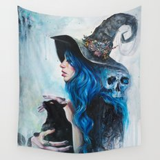 Blue Valentine Wall Tapestry
