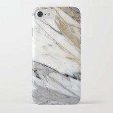 Calacatta Marble iPhone 7 Slim Case