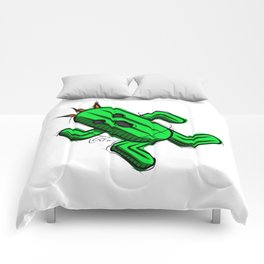Cactuar Digital Drawing, Games Art, Kyactus, Final Fantasy Art Comforters