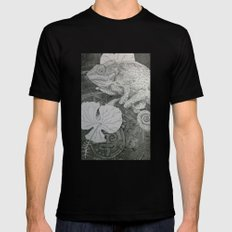 Lost City Mens Fitted Tee Black X-LARGE