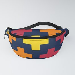 Colorful Crosses III Fanny Pack