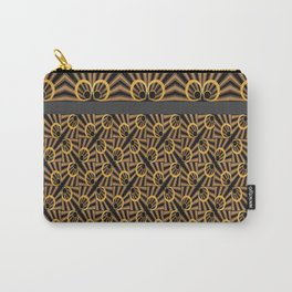 ArtDéco gold Carry-All Pouch