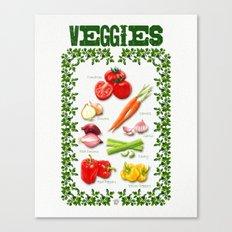 VEGGIES Canvas Print
