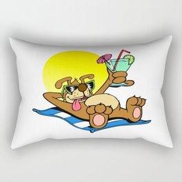 Beach Dawg Rectangular Pillow