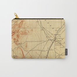 Vintage Map of The Las Vegas Valley NV (1907) Carry-All Pouch