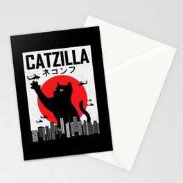 CATZILLA Cat Kitty Japan Vintage Gift Stationery Cards