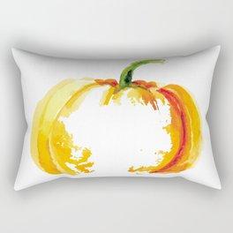 Thanksgiving Pumpkin Abstract Modern Art Rectangular Pillow