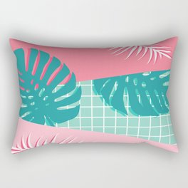 Palm Springs #society6 #decor #buyart Rectangular Pillow