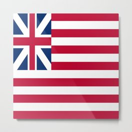 Historical flag of the USA : grand union flag Metal Print