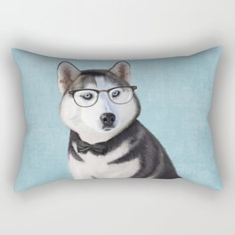 Mr Husky Rectangular Pillow