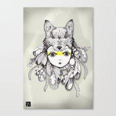 Be A Warrior Canvas Print