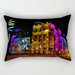 Brisbane Square Rainbow Treasury Casino Brisbane Australia Rectangular Pillow