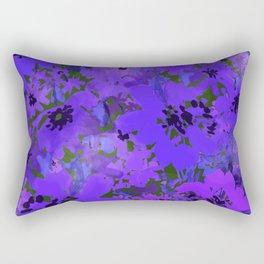 Heavenly Blue Garden Rectangular Pillow