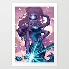 Giant Woman Art Print