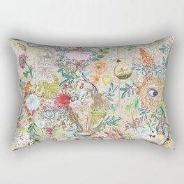 garden on constellations tea Rectangular Pillow