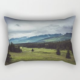 Mountain Trail - Landscape and Nature Photography Rectangular Pillow