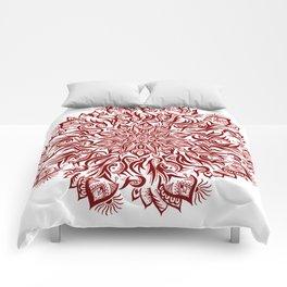 Fire-Garnet Comforters
