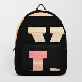 Donuts Love Heart Love Donut Beautiful pink Backpack