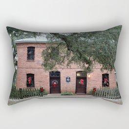 Old  Brunswick County Jail Rectangular Pillow