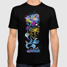 Every Time a Whale Blows Their Spout, a New Dream is Born. Mens Fitted Tee Black 2X-LARGE