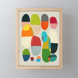 Jagged little pills Framed Mini Art Print
