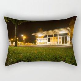 Bus and trainstation Rectangular Pillow