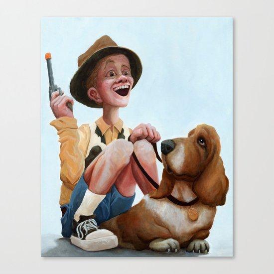 High Expectations Canvas Print