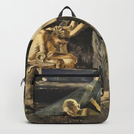 Akseli Gallen-Kallela - In The Sauna - Digital Remastered Edition Backpack