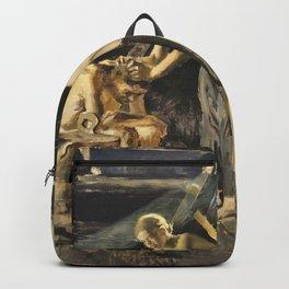 Akseli Gallen-Kallela - In The Sauna - Digital Remastered Edition Backpack