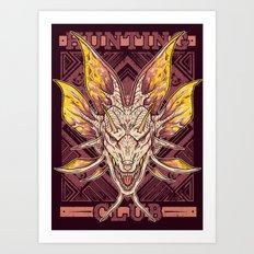 Hunting Club: Mizutsune Art Print