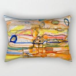 les siamois Rectangular Pillow