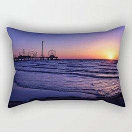 Pleasure Pier Sunrse Rectangular Pillow