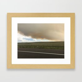 I-25 Storm Framed Art Print