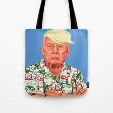 Hipstory -  Donald Trump Tote Bag