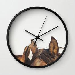 Horse Ears Modern Print Wall Clock
