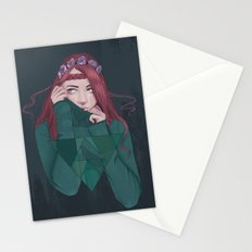 Being Shy is Painful Stationery Cards