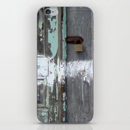 Hidden within Santorini, Greece iPhone & iPod Skin