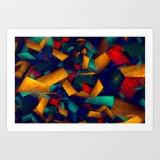View of my Room from Bed Art Print