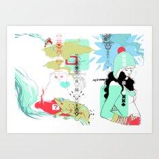 Funky s*!t Art Print
