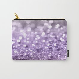 Purple Lavender Glitter #1 #shiny #decor #art #society6 Carry-All Pouch