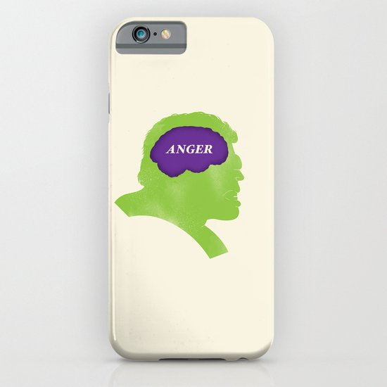 Hulk Phrenology iPhone & iPod Case