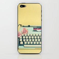 The Typewriter iPhone & iPod Skin