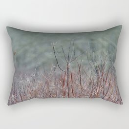 In the Marsh Rectangular Pillow
