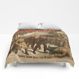 Vintage poster - The New Siberia Comforters
