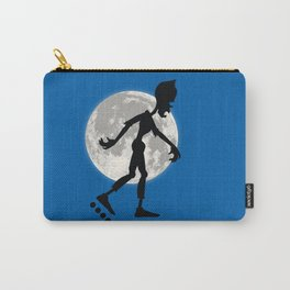 Friendly Zombie On The Go - Roller-skates Carry-All Pouch
