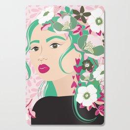 Floral & Feminine - Determined Cutting Board