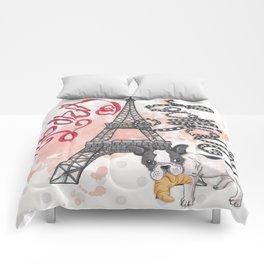 Paris Bonjour Comforters