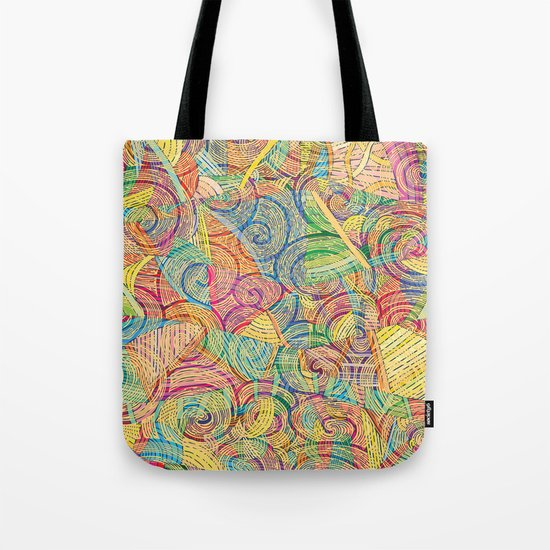 Colorful pattern (a little geometry) Tote Bag
