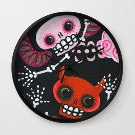Angel & Devil Wall Clock